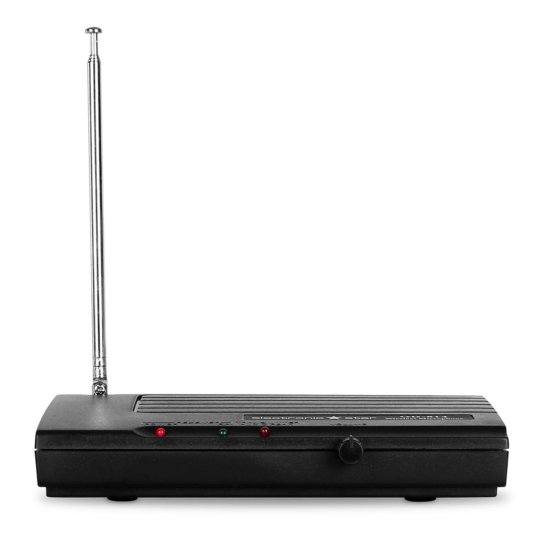 Electronic Star • VHF Funkmikrofon Set • Funk Mikrofon System • 1 x kabelloses Mikrofon • 50 m Reichweite • ca 6 St Betriebszeiten • geringe Verhallung
