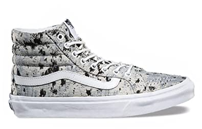 Image Unavailable. Image not available for. Color  Vans Womens Sayings SK8- Hi Slim Skate Shoes (Sayings) True White ... f49b04ff8