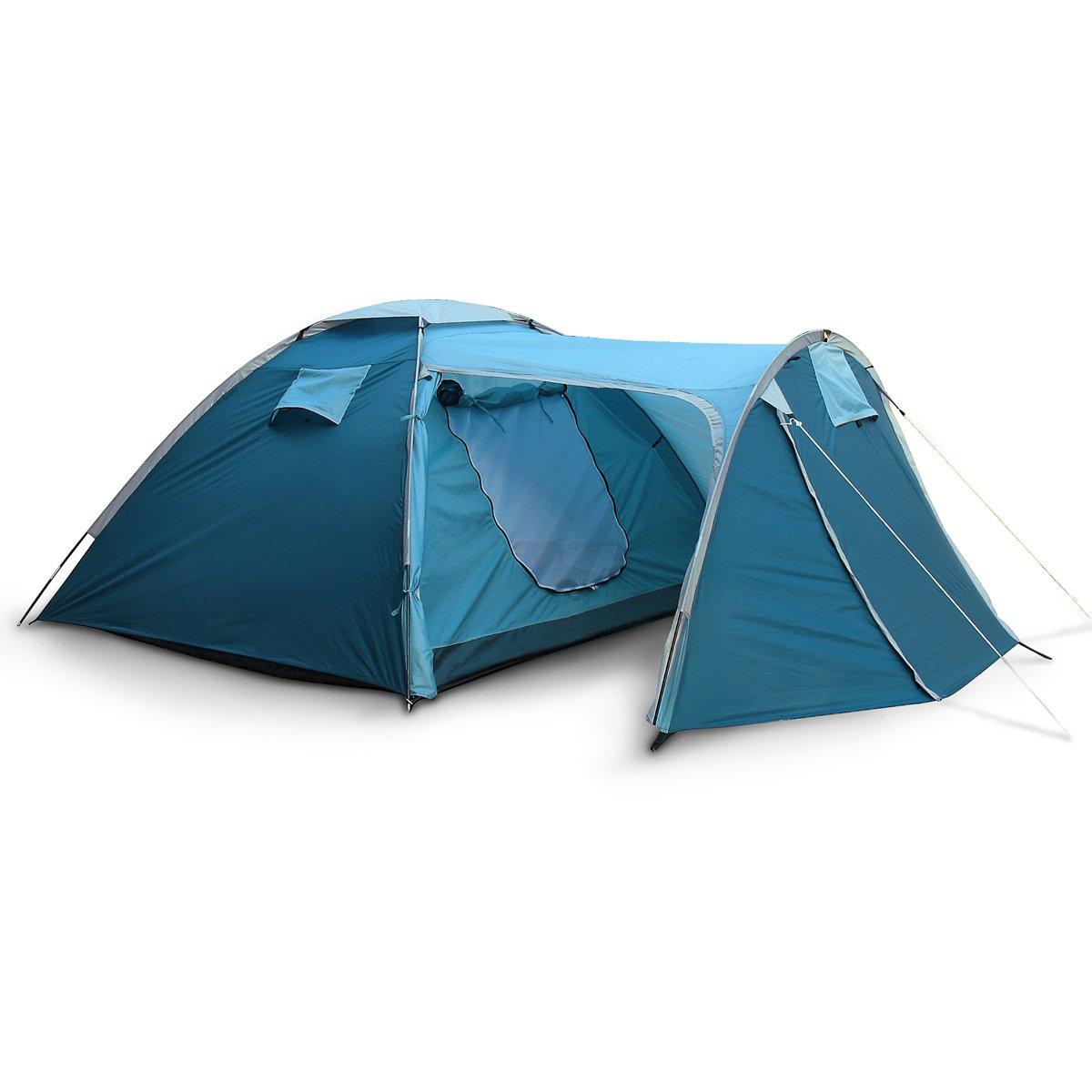 Familien Zelt aus Polyester Maße: 130 + 210 x 240 x 140/120 cm