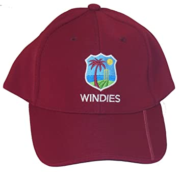 BLK Sport West Indies Cricket Cap: Amazon co uk: Sports
