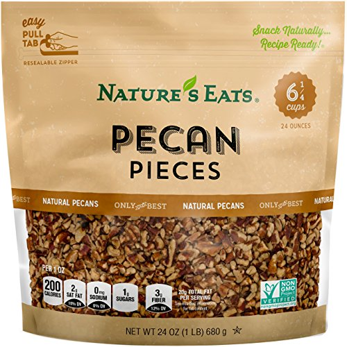 Natures Eats Pecan Pieces Ounce product image