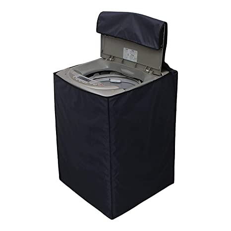 Dream Care Grey Waterproof Dustproof Washing Machine Cover For All Lg Fully Automatic Top Load 5 5kg 8 5kg Amazon In Home Kitchen