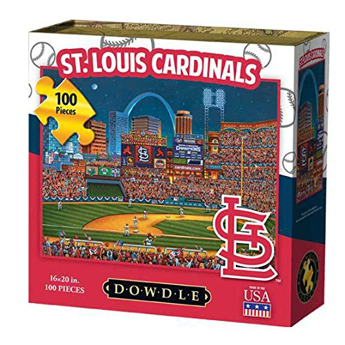 Dowdle Folk Art St Louis Cardinals Jigsaw Puzzle (100  Pieces)