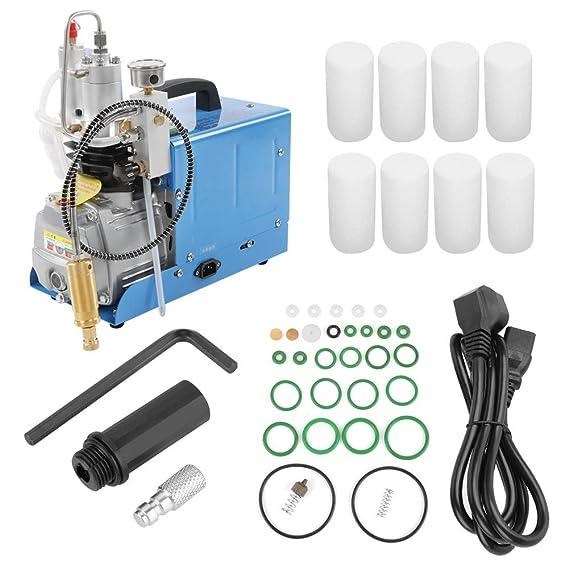 Alta presión Electric Air Compressor Pump 30MPa 220V, Compresor de aire eléctrico: Amazon.es: Bricolaje y herramientas