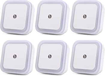 6-Pk. Jackyled 0.5W LED Night Light Lamp