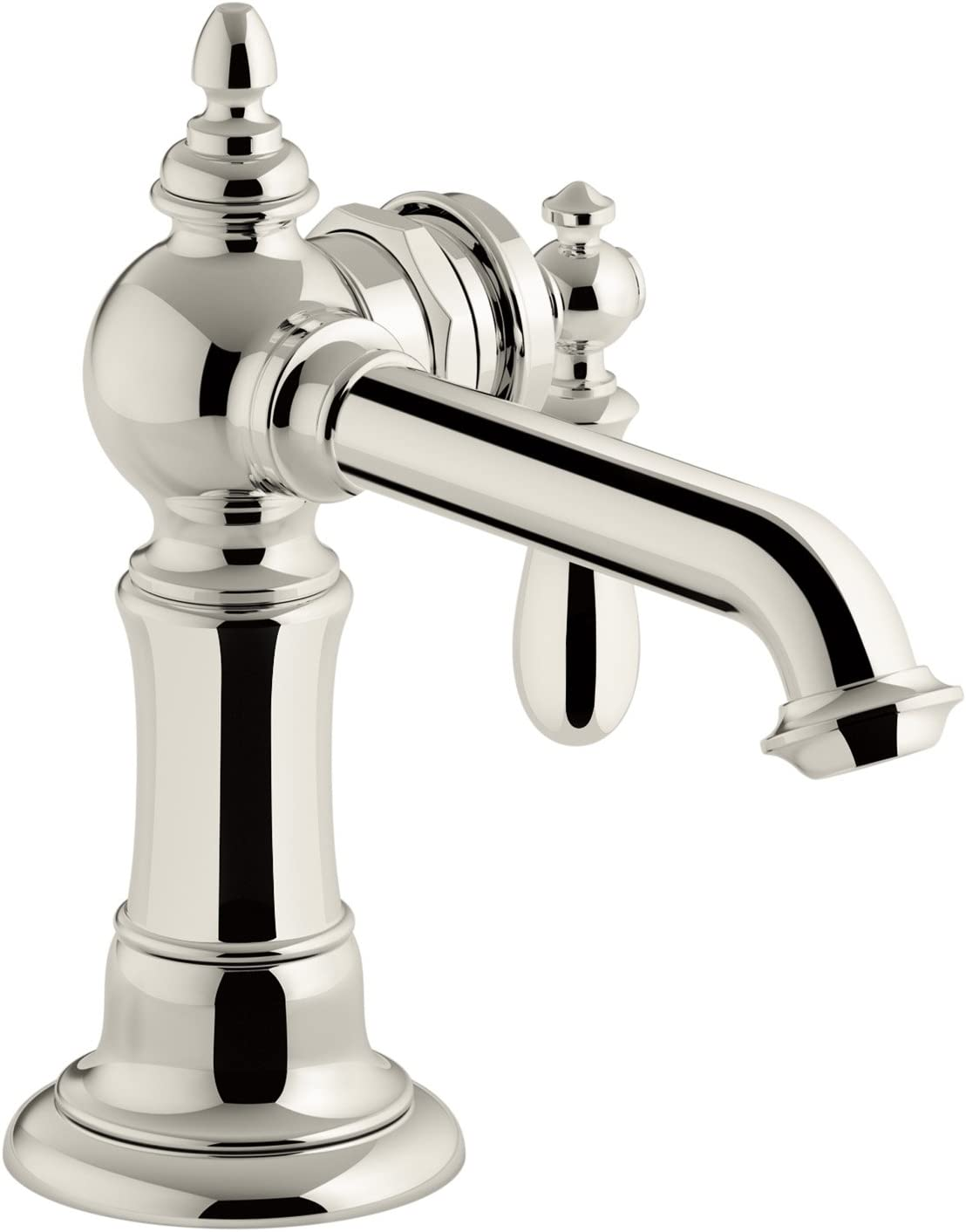 Kohler K 72762 9m Sn Artifacts Single Handle Bathroom Sink Faucet Vibrant Polished Nickel Amazon Com