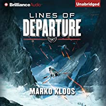 Lines of Departure: Frontlines, Book 2 Audiobook by Marko Kloos Narrated by Luke Daniels