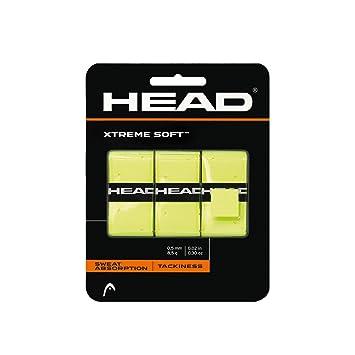 Head Xtremesoft Pack de Overgrip, Unisex, Amarillo, S: Amazon.es: Deportes y aire libre
