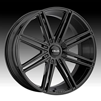 17 x 7. inches //5 x 72 mm, 38 mm Offset HELO HE907 Gloss Black Machined Wheel Chromium hexavalent compounds
