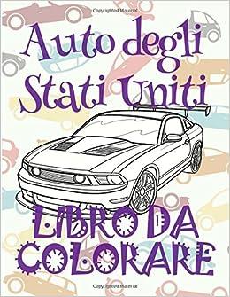 Auto Degli Stati Uniti Auto Album Da Colorare Libro Da