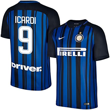 100% authentic 51cf1 f47cd Nike Inter Milan Home Icardi Jersey 2017/2018 (Fan Style ...