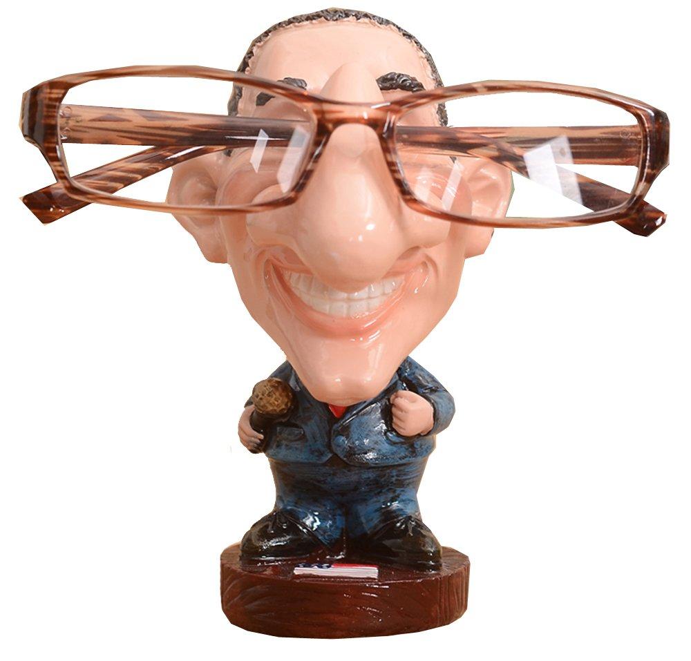 Football Player/Gentleman Resin Eyeglass Holder,Animal Spectacle Holder Eyeglass Display Stand Sunglasses Holder