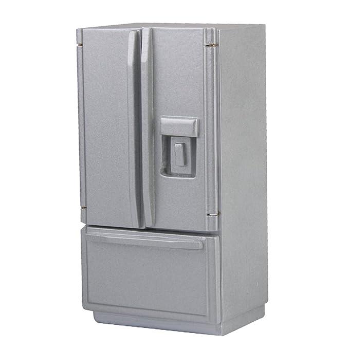 Maison Cadeaux Meuble Pour Enfants Mini De Miniatures Poupée Réfrigérateur ordxeWQCB