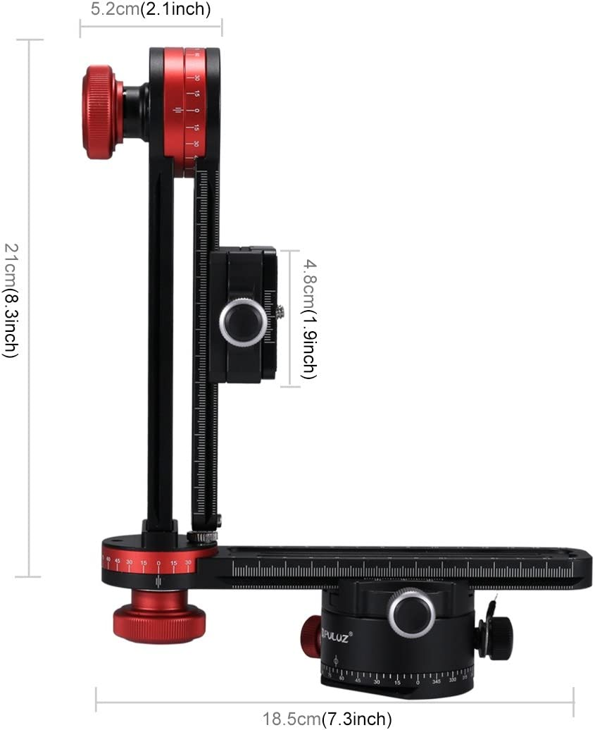 Camera Accessories 720 Degree Panoramic Aluminum Alloy Ball Head Quick Release Plate Kits