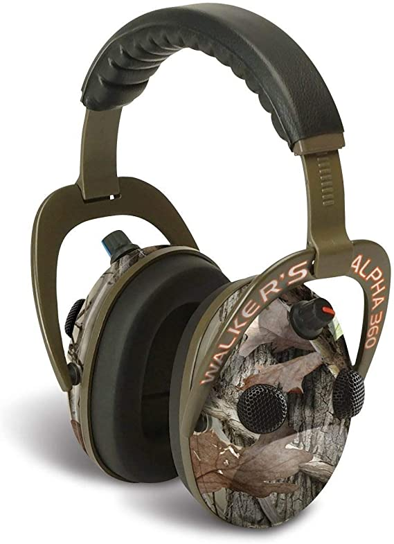 Walker's Game Ear Alpha 360 Quad