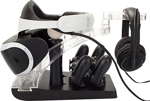 Venom PS4 Controller and Move Charging Station with VR Headset Storage - PlayStation 4 [Importación inglesa]: Amazon.es: Videojuegos
