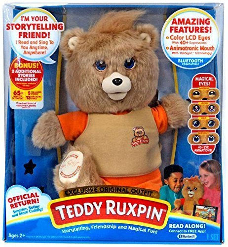 Teddy Ruxpin Bear Storytelling, Friendship, and Magical Fun exclusive original outfit bear