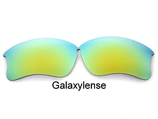 886219b61f Galaxy Replacement Lenses For Oakley Flak Jacket XLJ Sunglasses Gold  Polarized Gold Size  Regular