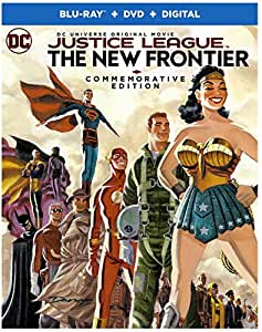 Justice League: New Frontier Commemorative Edition (BD) [Blu-ray]