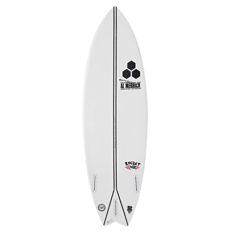 Channel Islands Rocket - Tabla de Surf de 6 pies, Color Blanco: Amazon.es: Deportes y aire libre