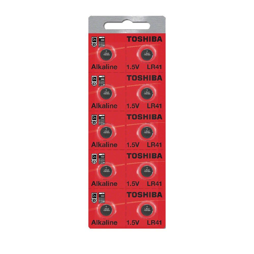 Toshiba LR41 AG3 Alkaline 1.5 Volt Batteries x20