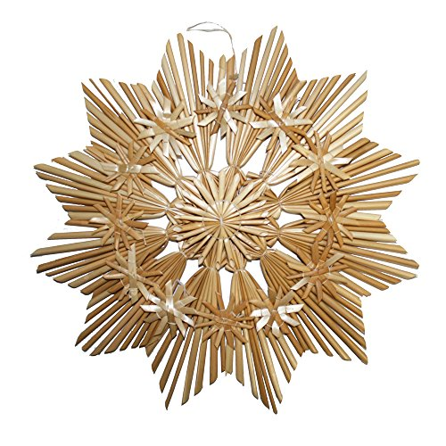 Straw Star Ornament (Large) - 10
