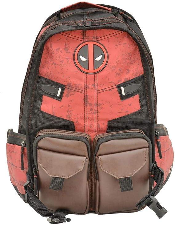 Mochila para Niños Deadpool Marvel Pack Batman Student School Mochila para Mochila Escolar para Niños 1: Amazon.es: Hogar