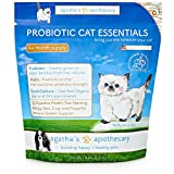 ✅Agatha's Apothecary – Probiotic Cat Essentials – Freshly Grown Probiotic – Improved Digestion – Inulin – Immune System Support – Reduced Tear Staining – 4-Month Supply