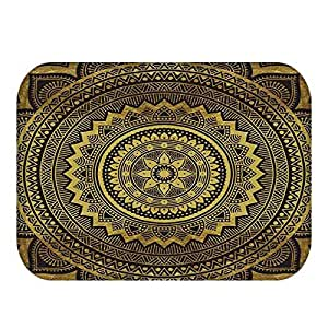 Geometric Printed Carpet Anti-slip Floor Mat Mandala Boho Print Bathroom Kitchen Door Mat 40x60 Area Rugs Home Decor