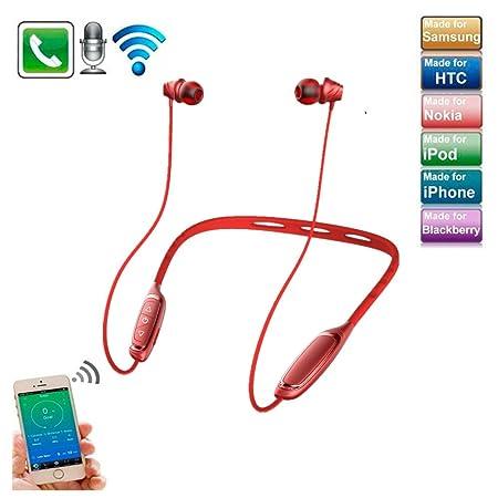 Auriculares Bluetooth con banda para el cuello, cancelación de ...