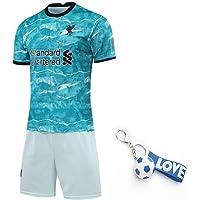 YHDQ 20–21 säsong Liv-erpool fotbollströja, borträkt vuxen barn kortärmad, t-shirt + shorts