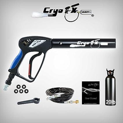 CryoFX Cryo Gun + 20lb Co2 Tank