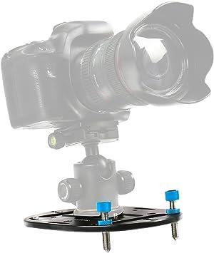 Negro Mini Universal Cabezal De Bola Para Dslr De Cámaras Digitales y Cámara De Video trípode
