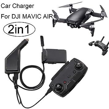 Diadia - Cargador de batería 2 en 1 para DJI Mavic Air Drone ...
