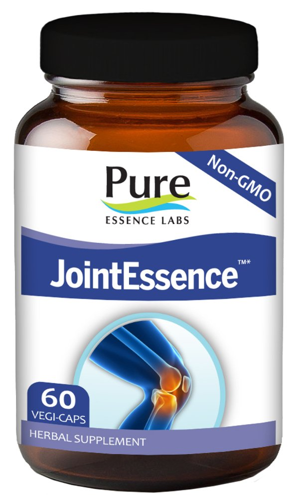 Pure Essence Labs Joint Essence Supplement - Natural Pain Relief Support for Men and Women - Non Gmo - 60 Vegetarian Capsules