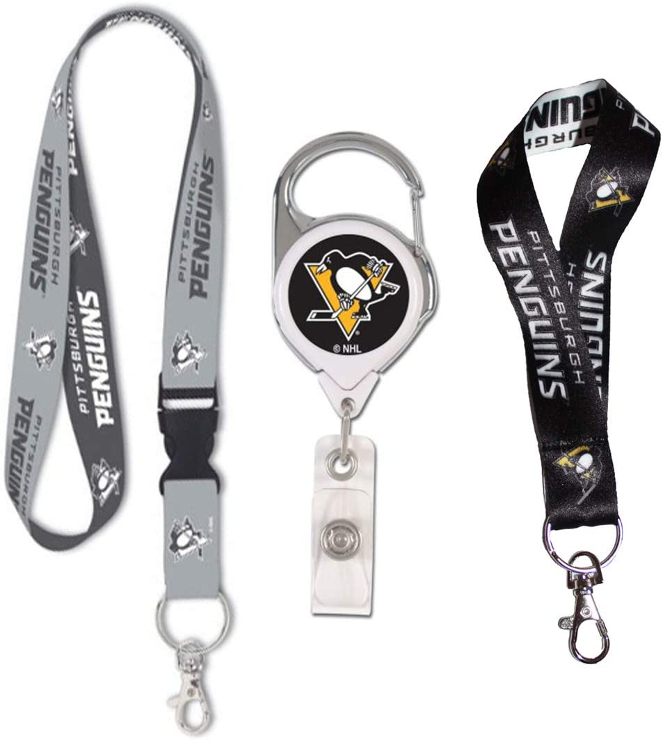 aminco Pittsburgh Penguins Dynamic Lanyard