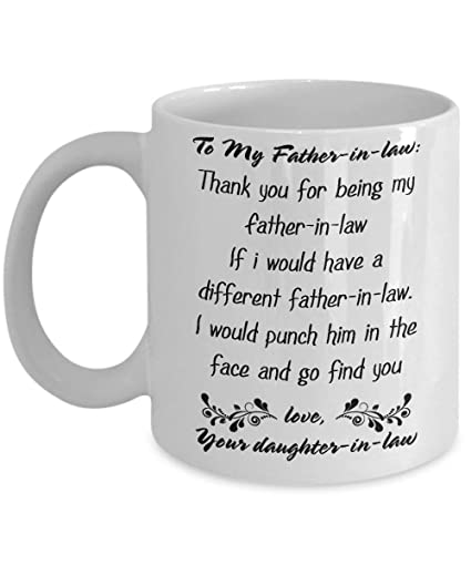 Amazoncom Father In Law Gift From Daughter In Law Thanks