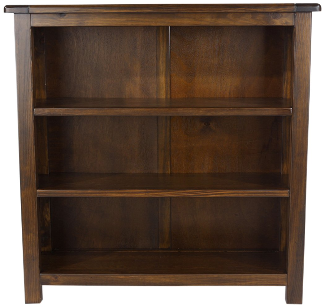 Core Products Low Bookcase, Rich Dark Brown BT311
