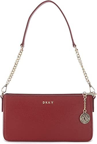 dkny side bag red