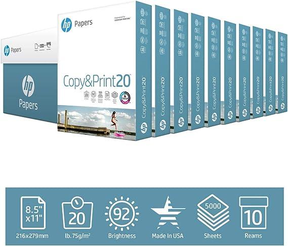 HP Printer Paper Copy&Print 20lb