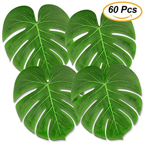 Tropical Palm Leaves 60 Pcs Large 13