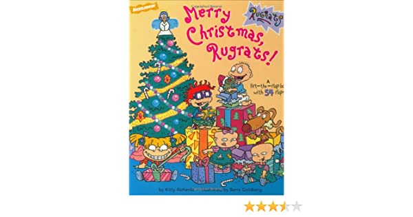 rugrats christmas lift the flap kitty richards barry goldberg 9780689821790 amazoncom books - Rugrats Christmas