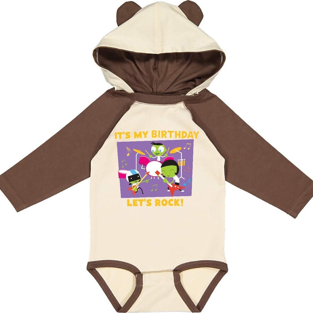 inktastic Its a Rockin Birthday with PBS Kids Long Sleeve Creeper PBS Kids