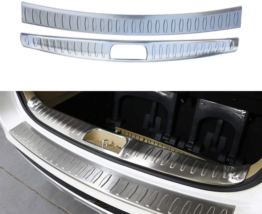 Car Door Sill Scuff Plate Guard Trims Fit Toyota Prius 2016 2017 Stainless