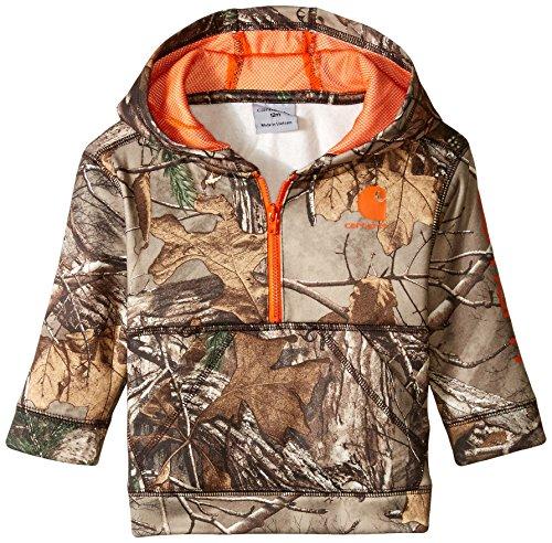 Little 1/2 Zip Sweatshirt, Realtree Xtra Camo Half 3M ()