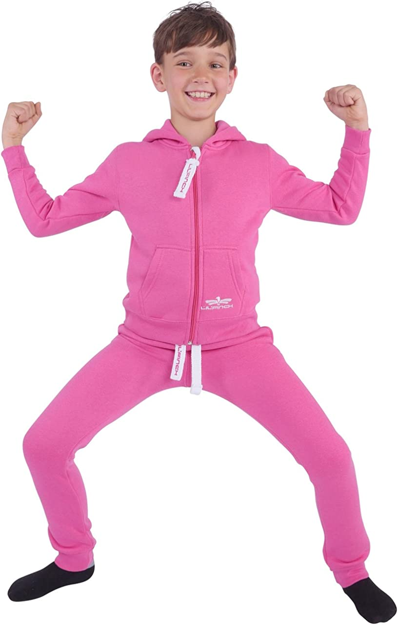 LILFinch Kinder Trainingsanzug Jungen M/ädchen Kids Schlafanzug Jogger Anzug