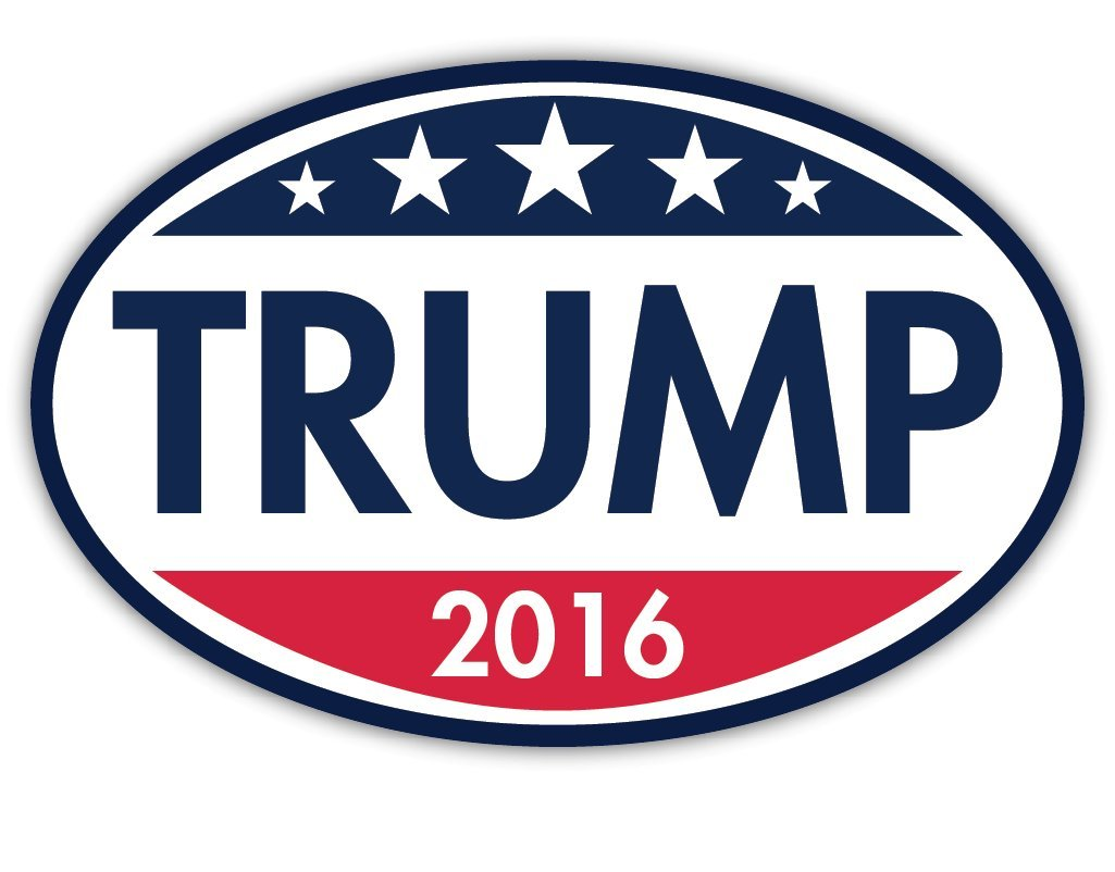 Cars Trucks SUVs Magnet Me Up E-22 Republican Magnet Trump 2016 Oval Magnet