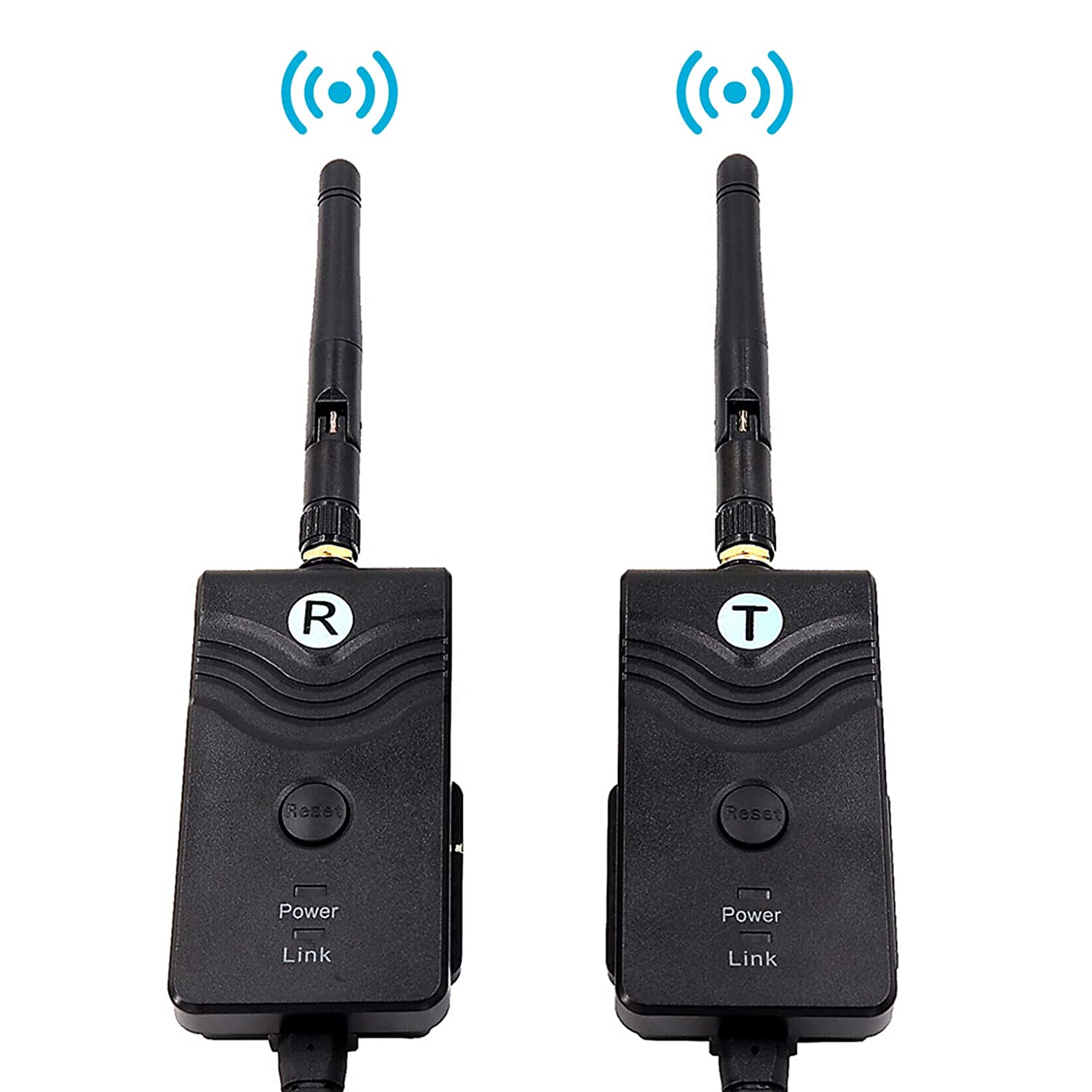 CAMONS Wireless Color Video Transmitter /& Receiver for Car//SUV//Trailer Wired Backup Camera System DC12-24V 2.4GHz 4 PIN Connector Shenzhen Topwell Electronics Co Ltd
