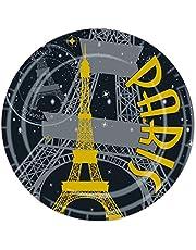 Beistle Paris Plates, 9-Inch