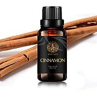 Cinnamon Essential Oil for Diffuser, Therapeutic Grade Cinnamon Essential Oil for Humidifier, 100% Pure Cinnamon Essential Oil Scent for Massage, 30ml Essential Oil Cinnamon Fragrance for Home